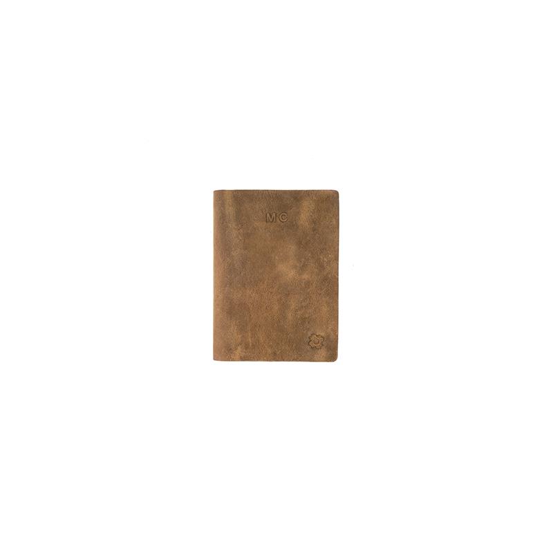 roma a6 marrón claro grabado